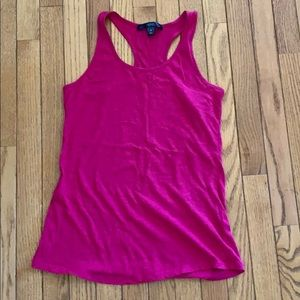 City streets racer back tank